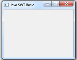 Tạo ứng dụng SWT cơ bản