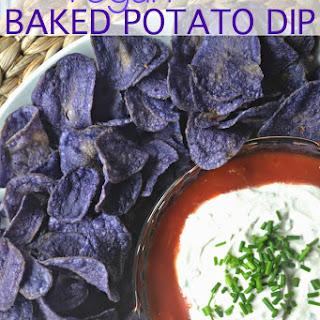 Vegan Baked Potato Chip Dip.