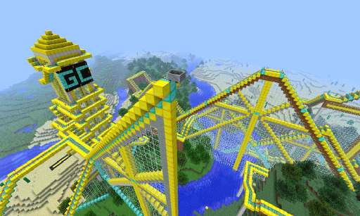 Roller Coaster: Minecraft Idea