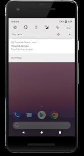 Proximity Service Screenshot
