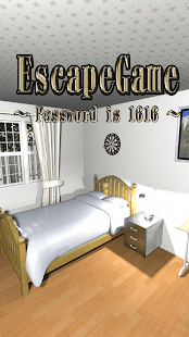Room Escape: Password is 1616 - náhled