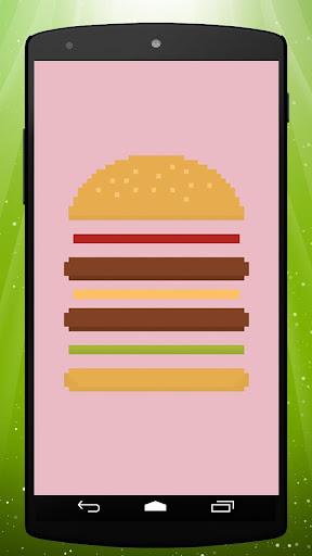 8 Bit Burger Live Wallpaper