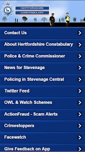 Hertfordshire Police- screenshot thumbnail