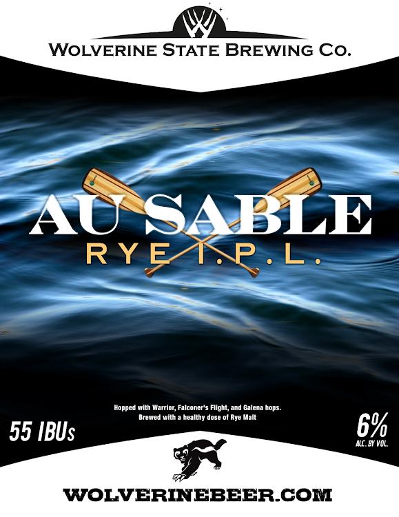 Logo of Wolverine State Au Sable Rye IPL