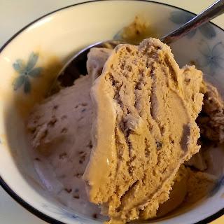 No-Churn Coffee and Creme de Cacao Ice-Cream.