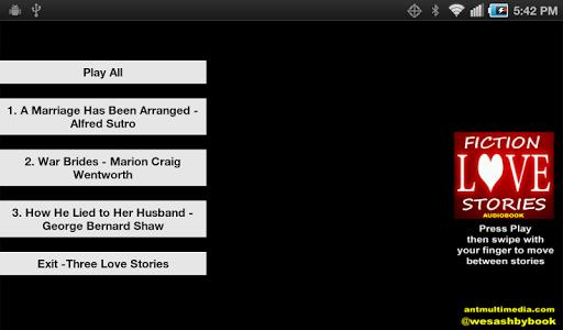 Love Stories 3 - AudioBook