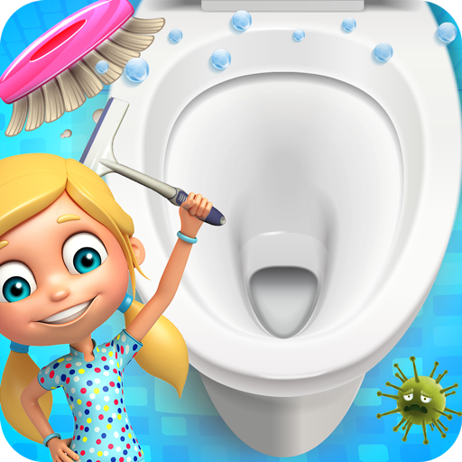 Bathroom Cleanup-Bathroom Cleaning Kids Game 2018