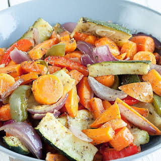 Beautiful Roasted Vegetables.