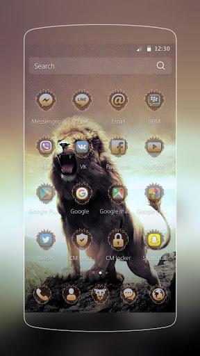 Wild Lion Theme Screenshot