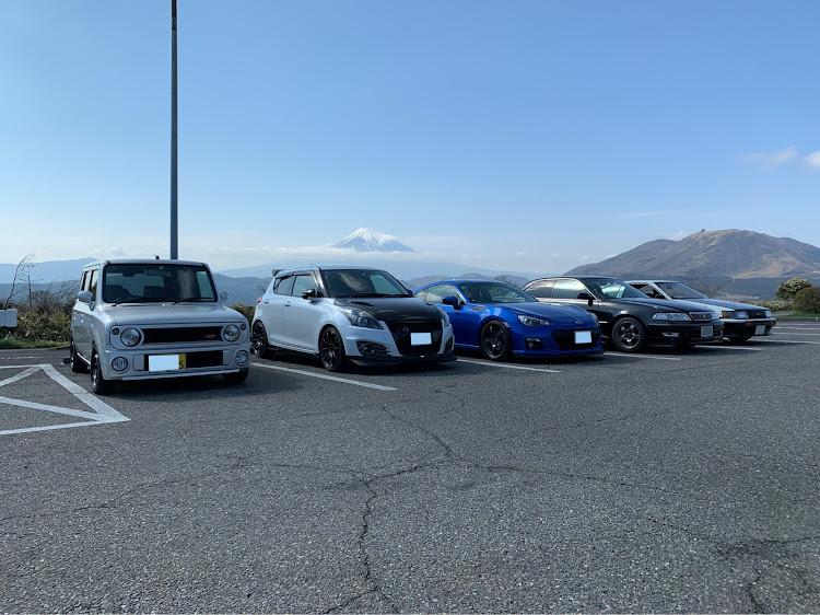 マークII JZX100のSSS(saitama street stage),箱根ターンパイク,大涌谷,芦ノ湖,富士山に関するカスタム&メンテナンスの投稿画像1枚目