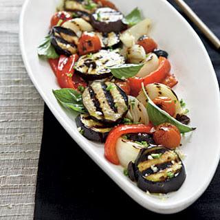 Charred Vegetable Salad