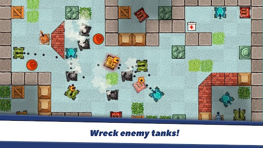 Awesome Tanks MOD (Unlimited Money) 5