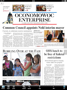 Oconomowoc Enterprise- screenshot thumbnail