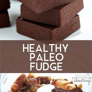 Healthy Paleo Fudge.