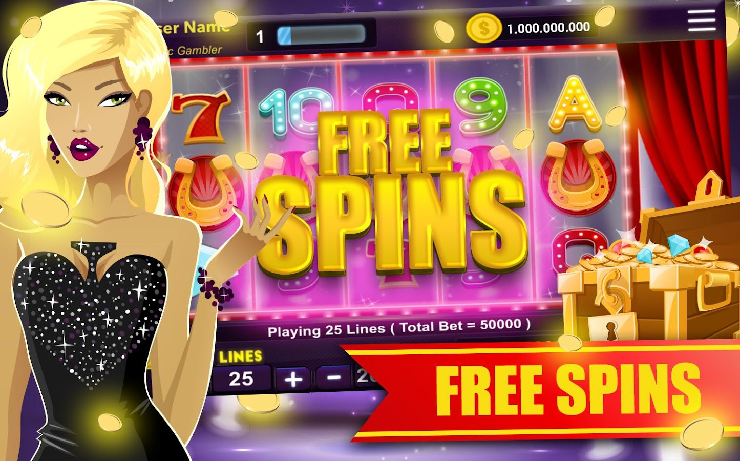 free slots machine online  android