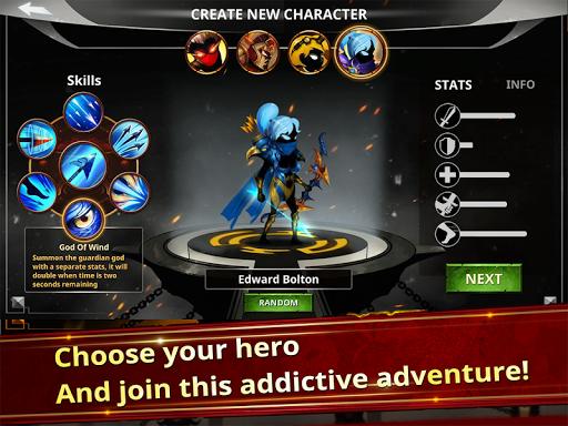 Stickman Legends - Ninja Warriors: Shadow War  screenshots 3