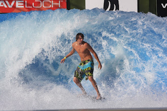 Photo: At the Wave House in Belmont Park, Mission Beach (San Diego).