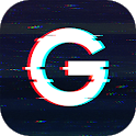 3D Glitch Photo Effects - Camera VHS Camcorder icon
