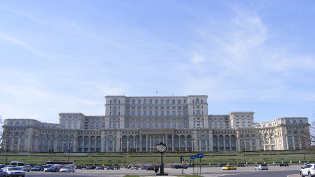 ROMANIAN PARLIAMENT ON BUCHAREST CITY TOUR