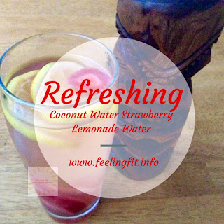 Healthy Coconut Water Strawberry Infused Lemonade Recipe (And Win a Free Glasstics Water Bottle!)