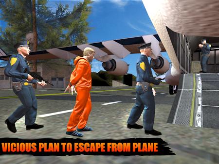 Police Airplane Prison Escape 1.6 screenshot 1108699