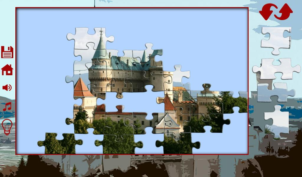 Big puzzles: castles- screenshot