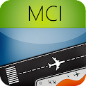 Kansas City Airport +Radar MCI icon