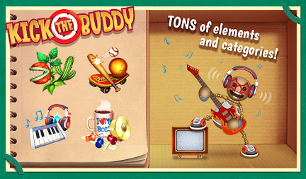 Kick the Buddy APK screenshot thumbnail 2