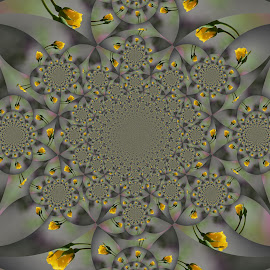 Roses by Irina Stoica - Illustration Abstract & Patterns ( fractal, photoshop,  )