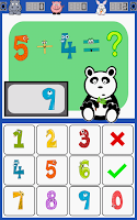 Screenshot of Math Panda