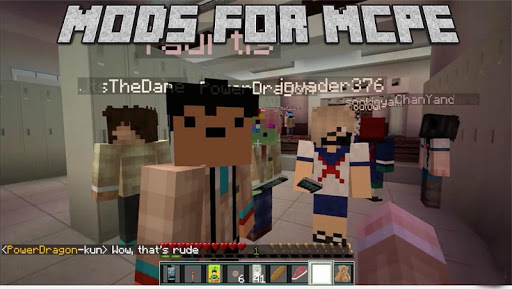 Mods for Minecraft Edition PE
