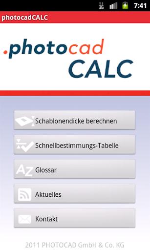 photocadCALC