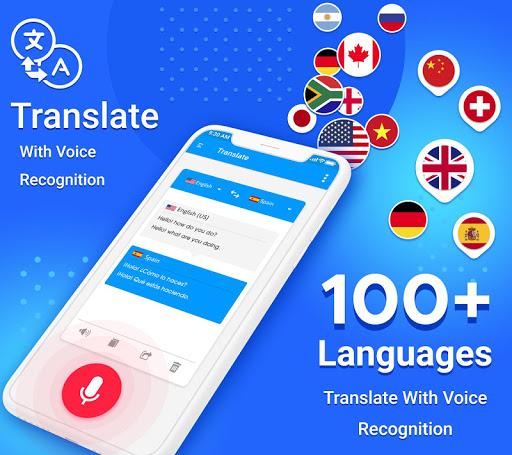 Language Translator, Free Translation Voice & Text screenshot 5