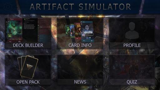 Artifact Simulator (CCG by DOTA) cheat screenshots 1