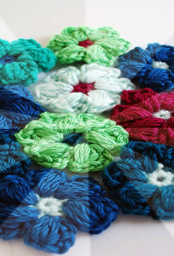 Crochet Flower Step By Step Tutorial : Easy Crochet flower tutorial - Android Apps on Google Play