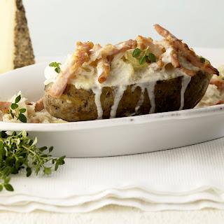 Ofenkartoffel mit Sauerkraut