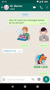 WAStickerApps - Sad Sticker Screenshot