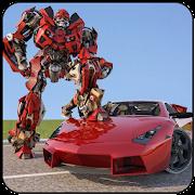 Futuristic Car Robot Transformation Game 2018