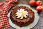 Upside Down Apple Pecan Pie Recipe