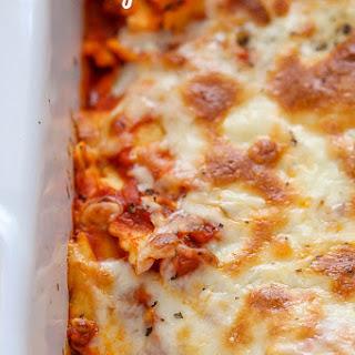 Easy Cheesy Ravioli Bake Recipe
