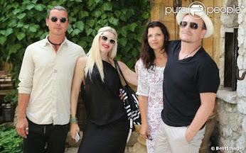 Bono et Ali : Fin des vacances en France en compagnie de Gwen Stefani et sa famille