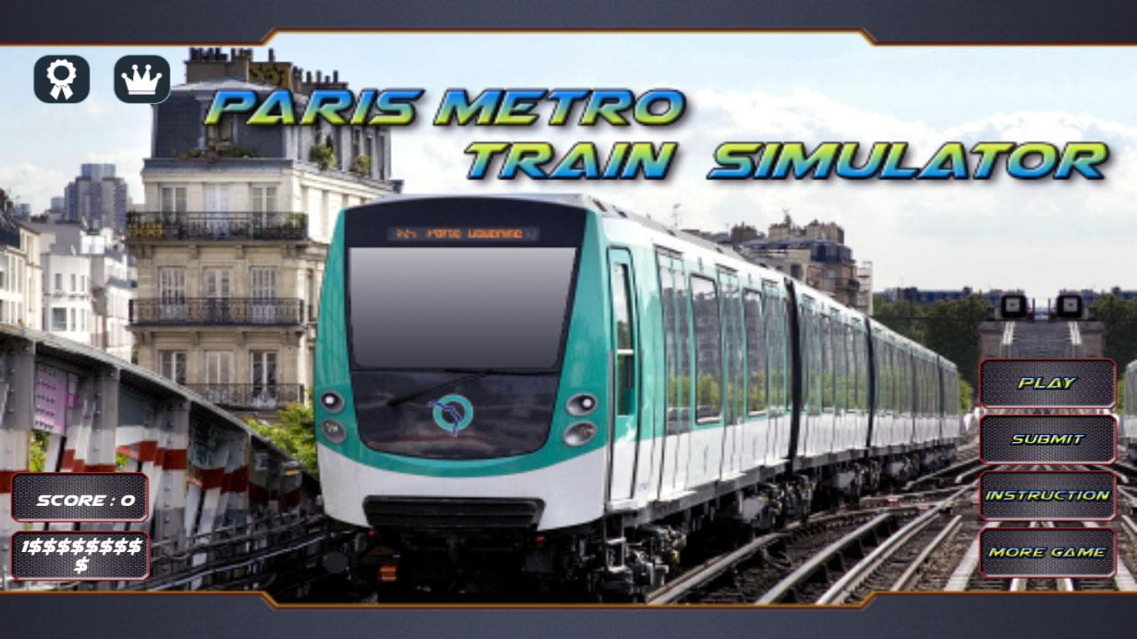 paris metro train simulator android apps on google play. Black Bedroom Furniture Sets. Home Design Ideas