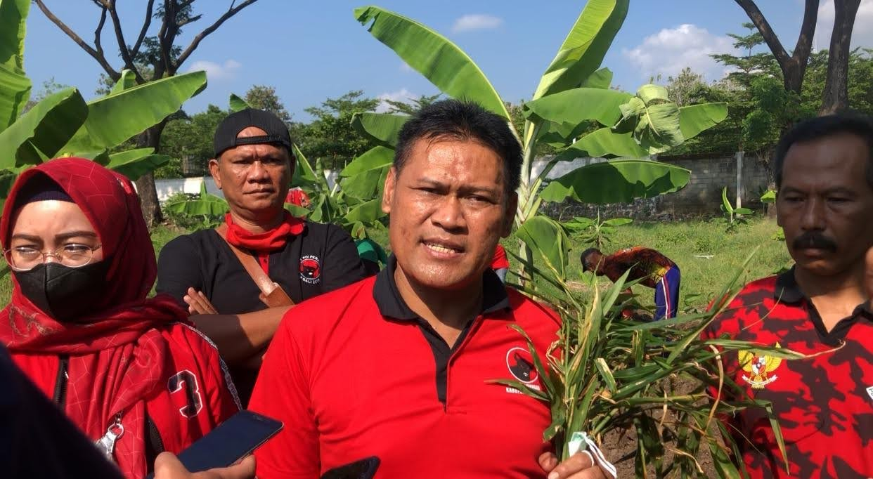 DPC PDI Perjuangan Magetan Memperingati Hari Lingkungan Hidup Sedunia