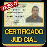 Certificado Judicial Consulta Cedula Colombiana Icon