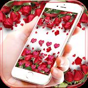 Red Rose Theme Wallpaper Red Roses Lock Screen