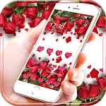 Red Rose live wallpaper Theme Icon