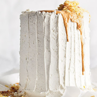 Spiced Pineapple Cake With Roasted White Chocolate.