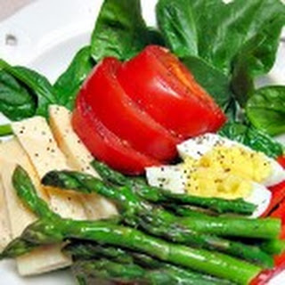 Asparagus and Hearts of Palm Salad.