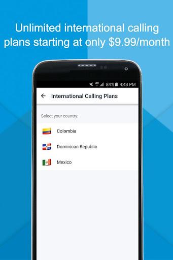 magicJack Connect Calling Screenshot