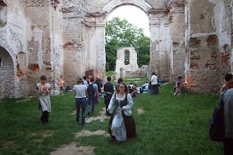Photo: návštevníci Noci kostolov na Katarínke začínajú prichádzať